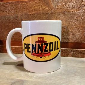 Mug céramique Blanc Pennzoil