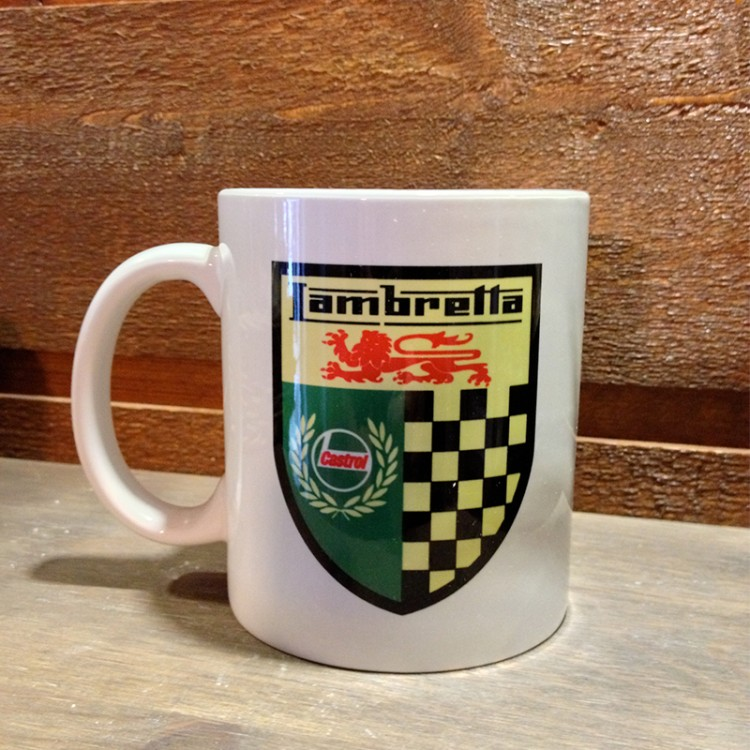 Mug céramique Blanc Lambretta Castrol