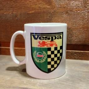 Mug céramique Blanc Vespa Castrol