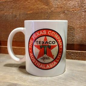 Mug céramique Blanc Texaco The Texas Company