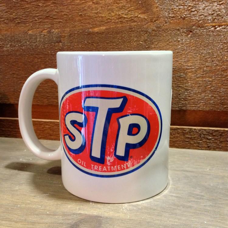 Mug céramique blanc STP Oil Treatment Usé