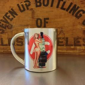 Mug inox Pin-up AC