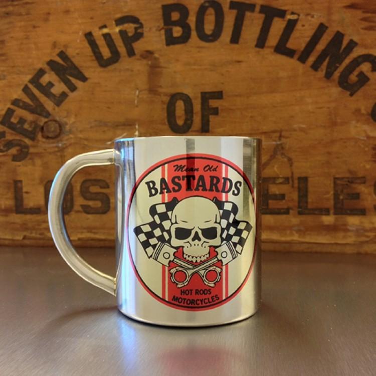 Mug inox Mean Old Bastards
