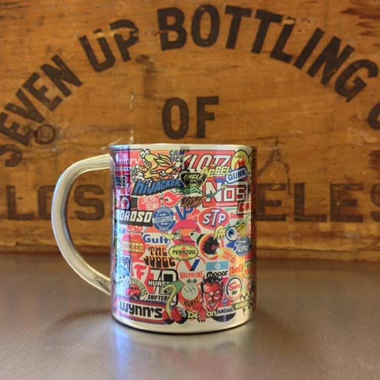 Mug inox Stickerbomb