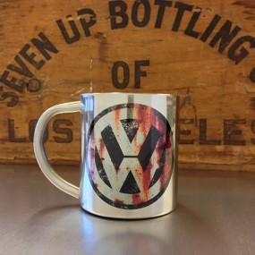 Mug inox VW rouillé