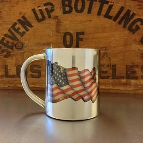 Mug inox Drapeau USA