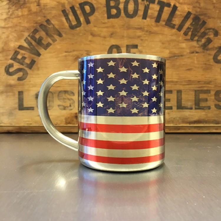 Mug inox Drapeau Américain