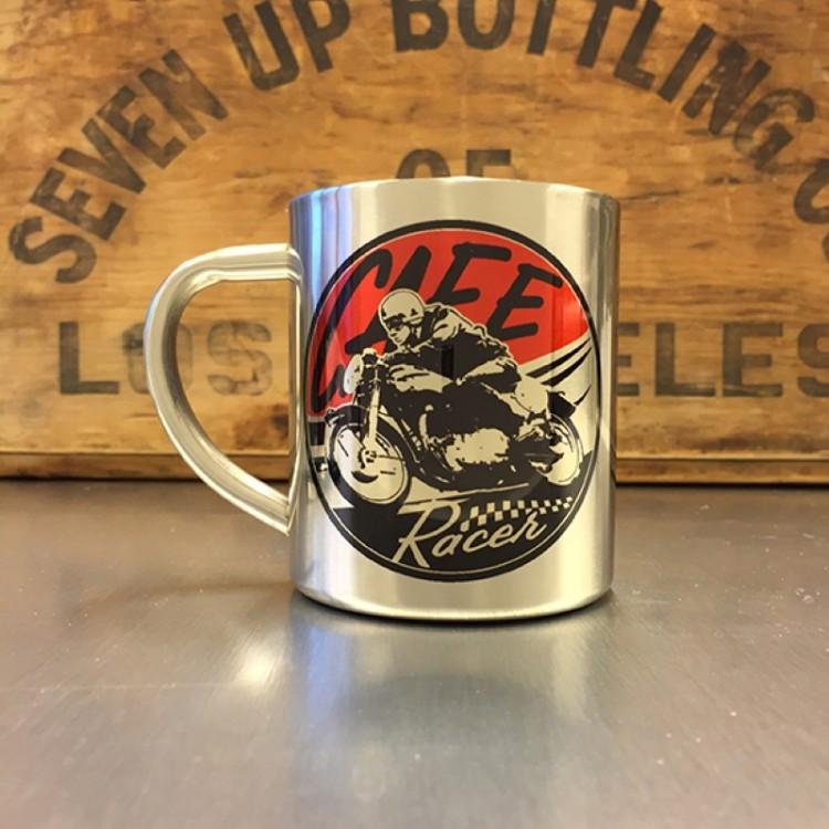 Mug inox Cafe Racer