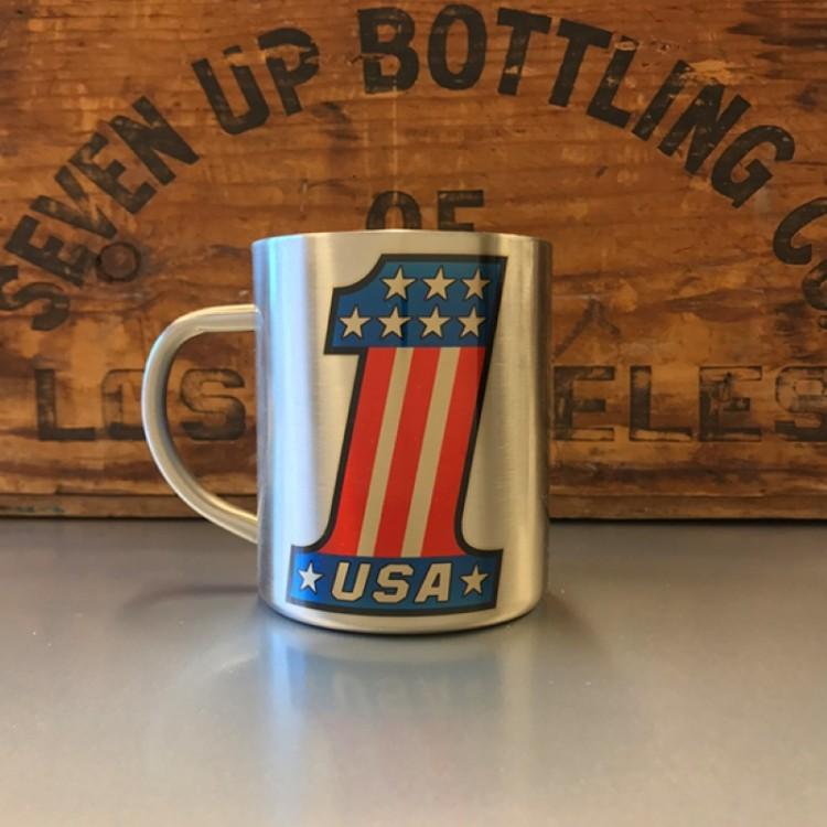 Mug inox Numéro 1 USA