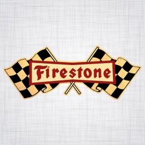 Sticker Firestone 520mm
