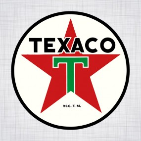 Sticker Texaco 1950 400mm