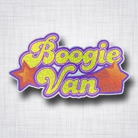 Boogie Van metalflake