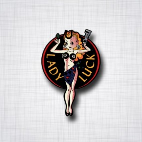 Pin-Up Lady Luck
