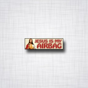 Jesus is my Airbag 80x20