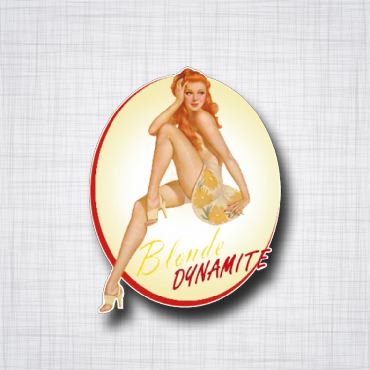 Pin-UP Blonde Dynamite