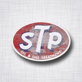 Sticker STP Patina