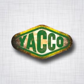 Sticker Yacco Patina