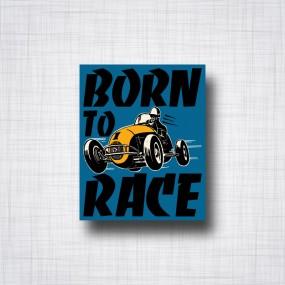 Sticker Born to Race