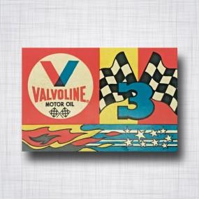 Sticker Valvoline 3 Stickers en 1