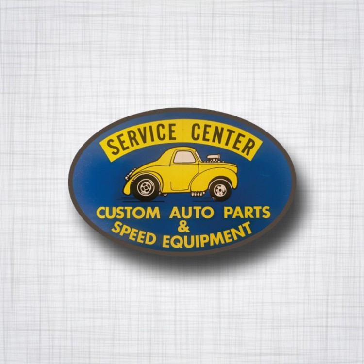 Sticker Service Center Custom Auto Parts