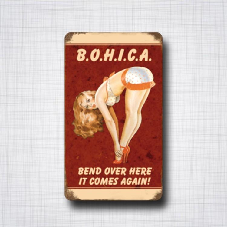 Pin-Up B.O.H.I.C.A