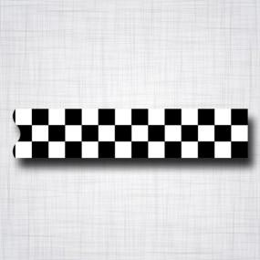damier noir et blanc