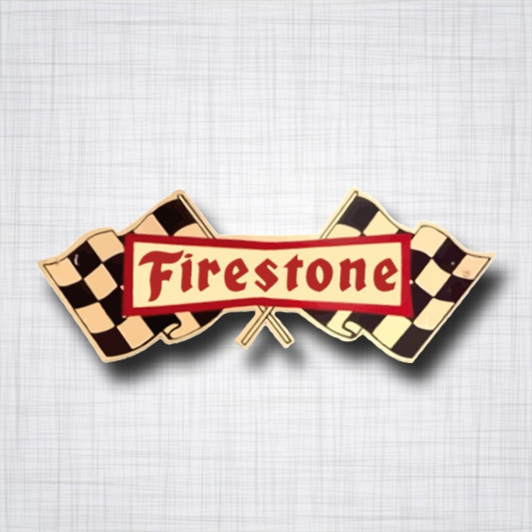 Firestone drapeaux vintage