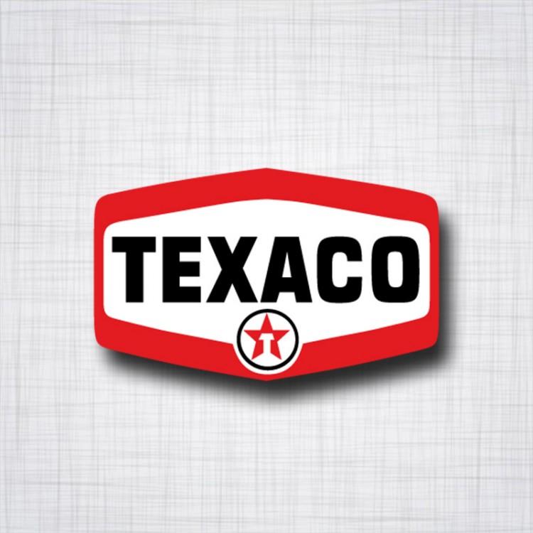 Sticker TEXACO 1963 1981