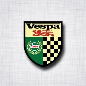 Vespa Castrol
