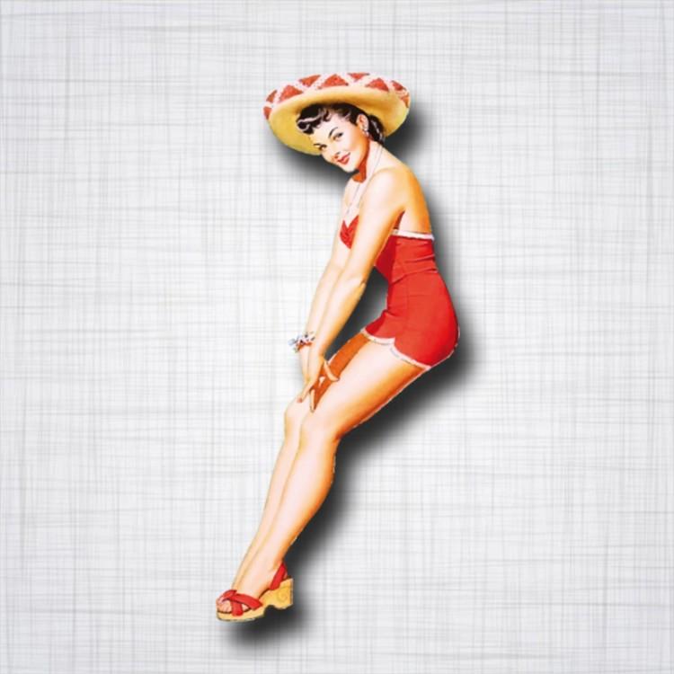 Pin-Up Sombrero