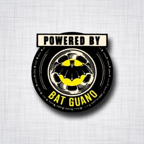 Sticker Powered by BAT GUANO