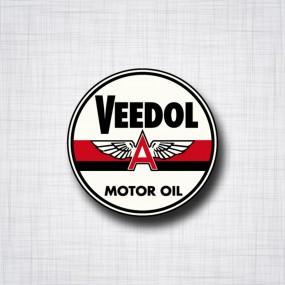Sticker VEEDOL Motor Oil