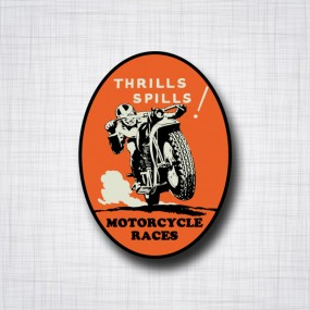Thrills Spills Mtorcycle Races