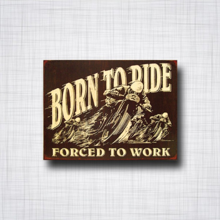 Born To Ride - Forced To Work