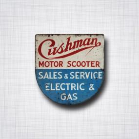 Cushman Motor Scooter