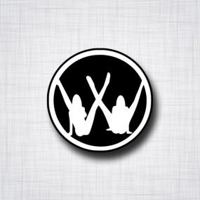 Sticker VW Pin-up