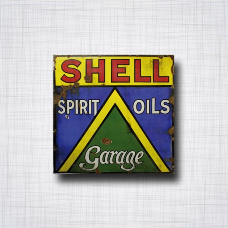 Sticker SHELL Spirit Oils