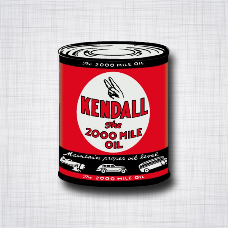 KENDALL The 2000 Mile Oil can
