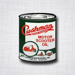 CUSHMAN Motor Scooter Oil can