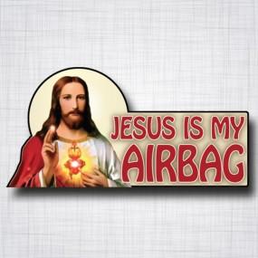 Jesus is my Airbag 160x80