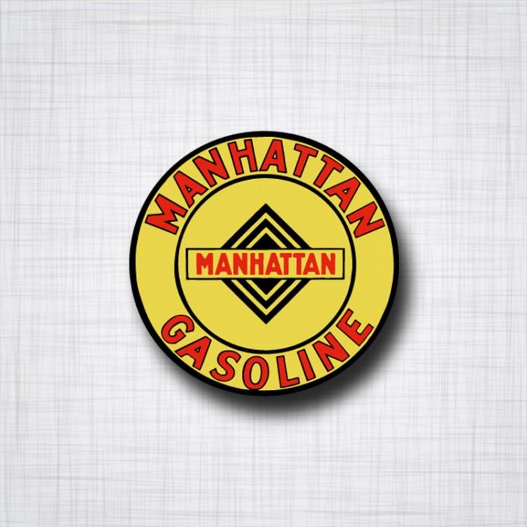 Sticker Manhattan Gasoline.