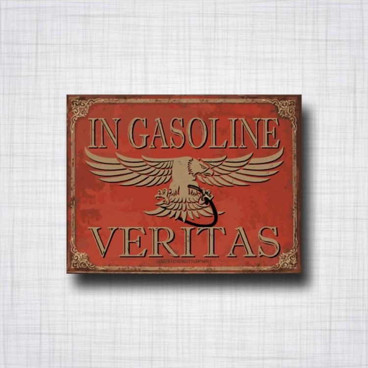 In gasoline Veritas Eagle