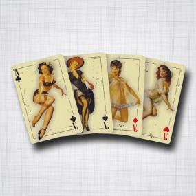 Pin-ups cartes