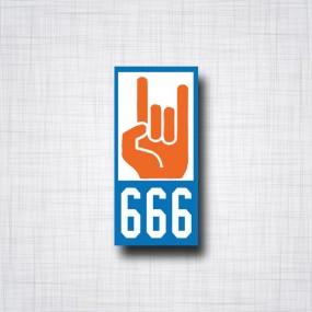 Immatriculation 666 voiture