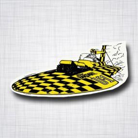 Sticker BARDAHL Boat