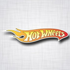 Sticker Hot Wheels