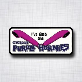 Cyclone Purple Hornies