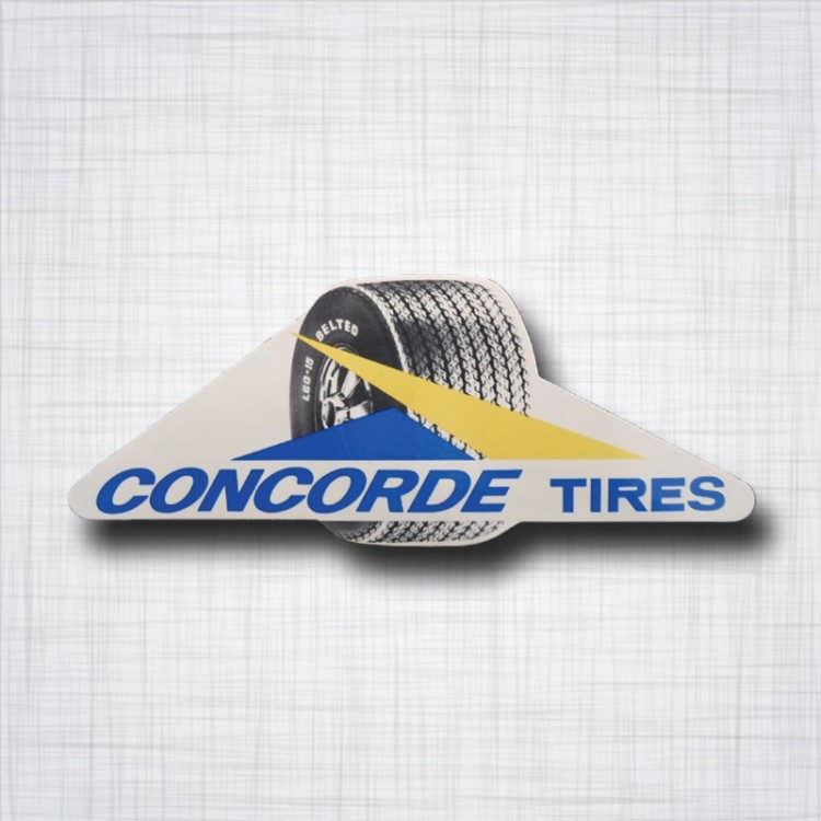Sticker Concorde Tires