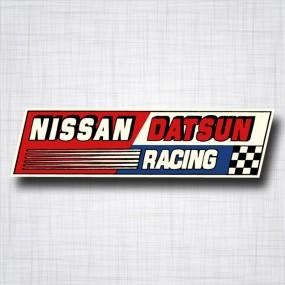 Sticker Nissan Datsun racing
