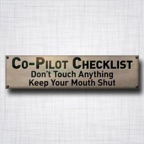Co-Pilot Checklist
